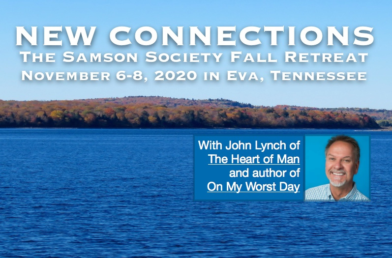 Samson Society Fall Retreat Registration Banner