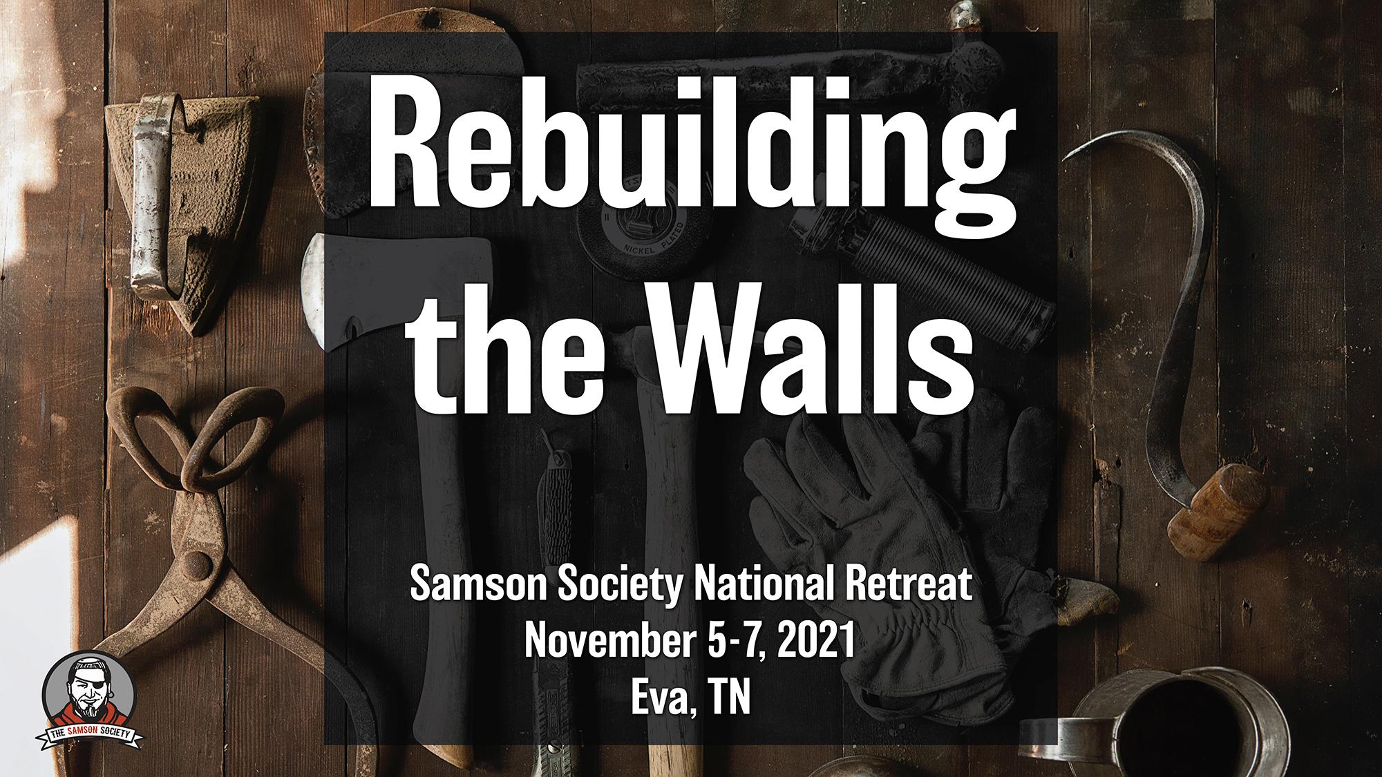 Samson Society Retreat Registration Banner